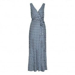 """<a href=""""http://www.hmfashionstar.com/fashion-star-ep-5-patterned-dress-designed-by-nikki/detail.php?p=369325&v=hm"""">Fashion Star® Ep 5 Patterned Dress Designed by Nikki Poulous</a>, at H&M for $19.95"""