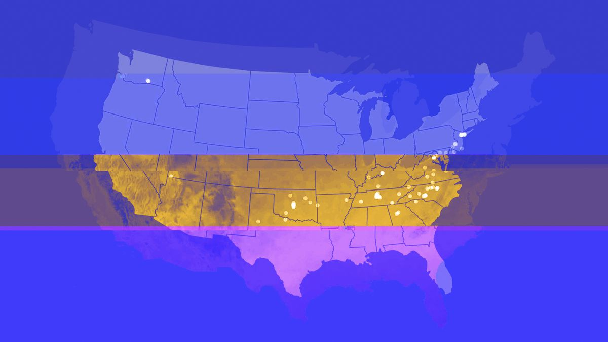 Climate change: see how much warmer winters in US cities could be by ...