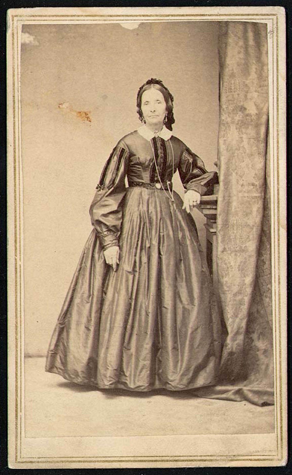 Eliza R. Snow, circa 1862-1872.