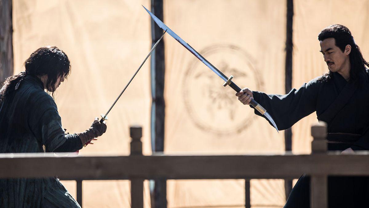 JangHyuk and Joe Talsim face off in Choi Jaehoon's The Swordsman