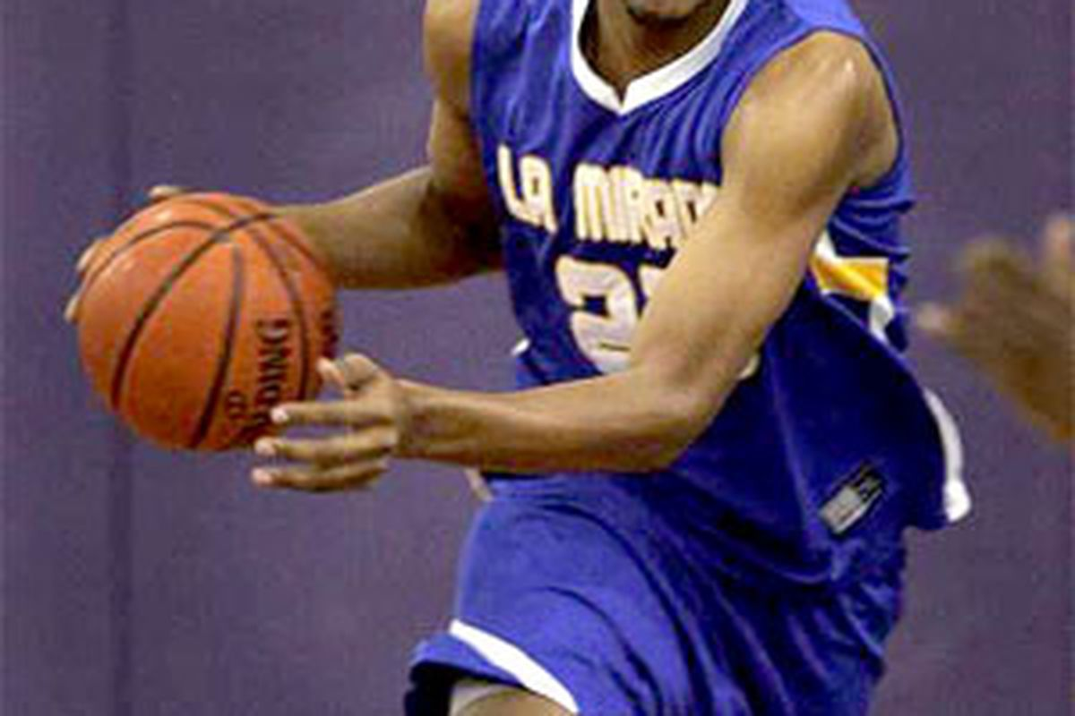 La Mirada's Derrick Williams could visit Gonzaga in the very near future.  Can Gonzaga land their seventh 2009 commit?