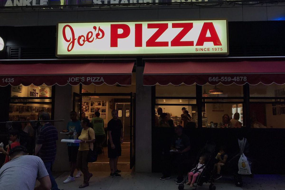 Nyc Institution Joes Pizza Heads To Times Square Eater Ny