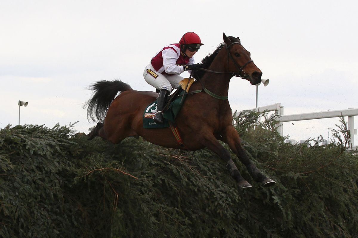Who is riding Andy Carroll at the Grand National? I thought he was at Wembley on Saturday.