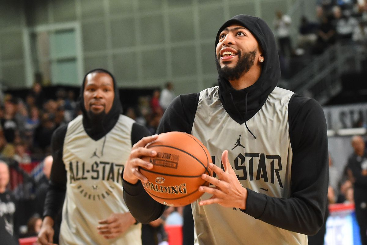 74103ad13dff Anthony Davis says he d sign with Lakers