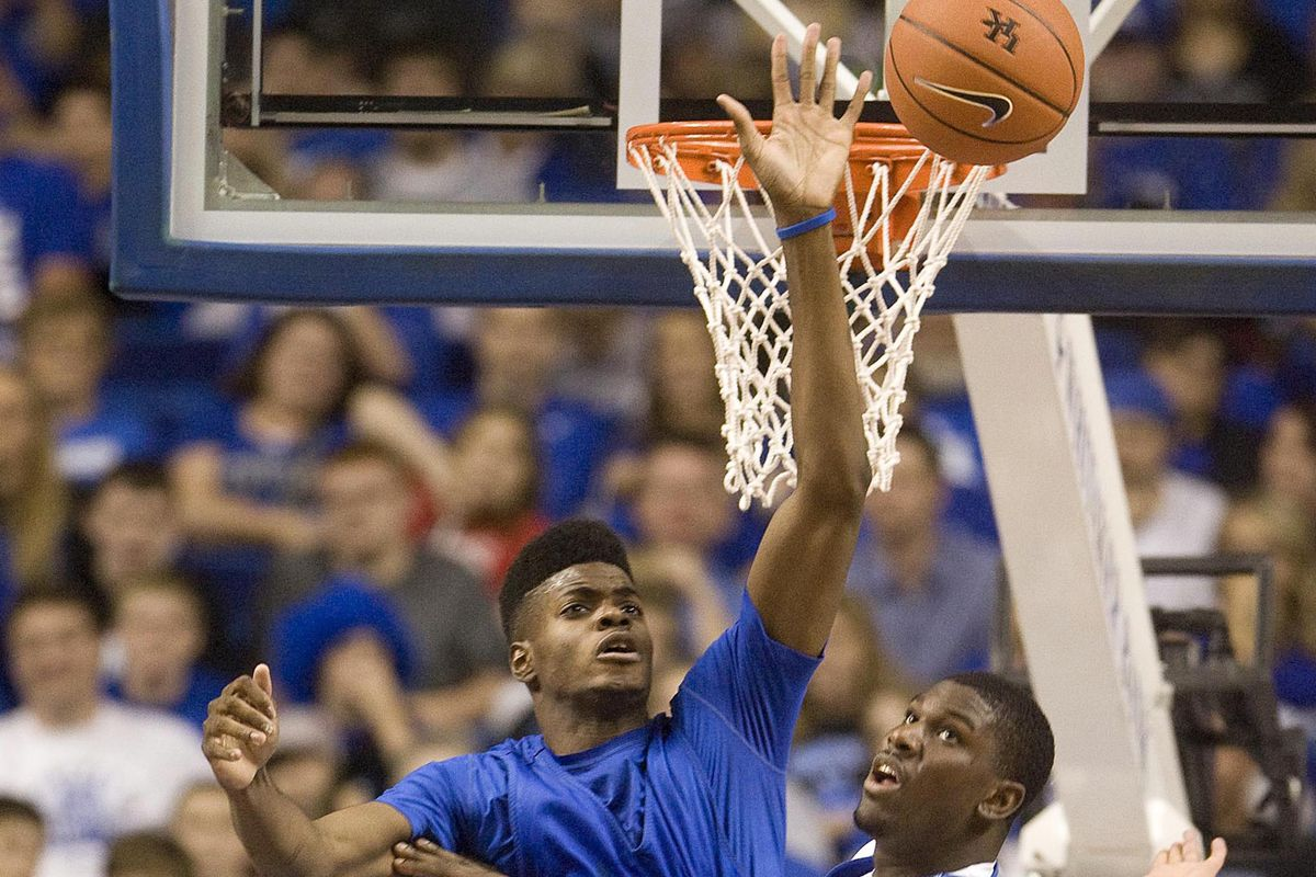 You could see a lot of this out of Nerlens Noel tonight.