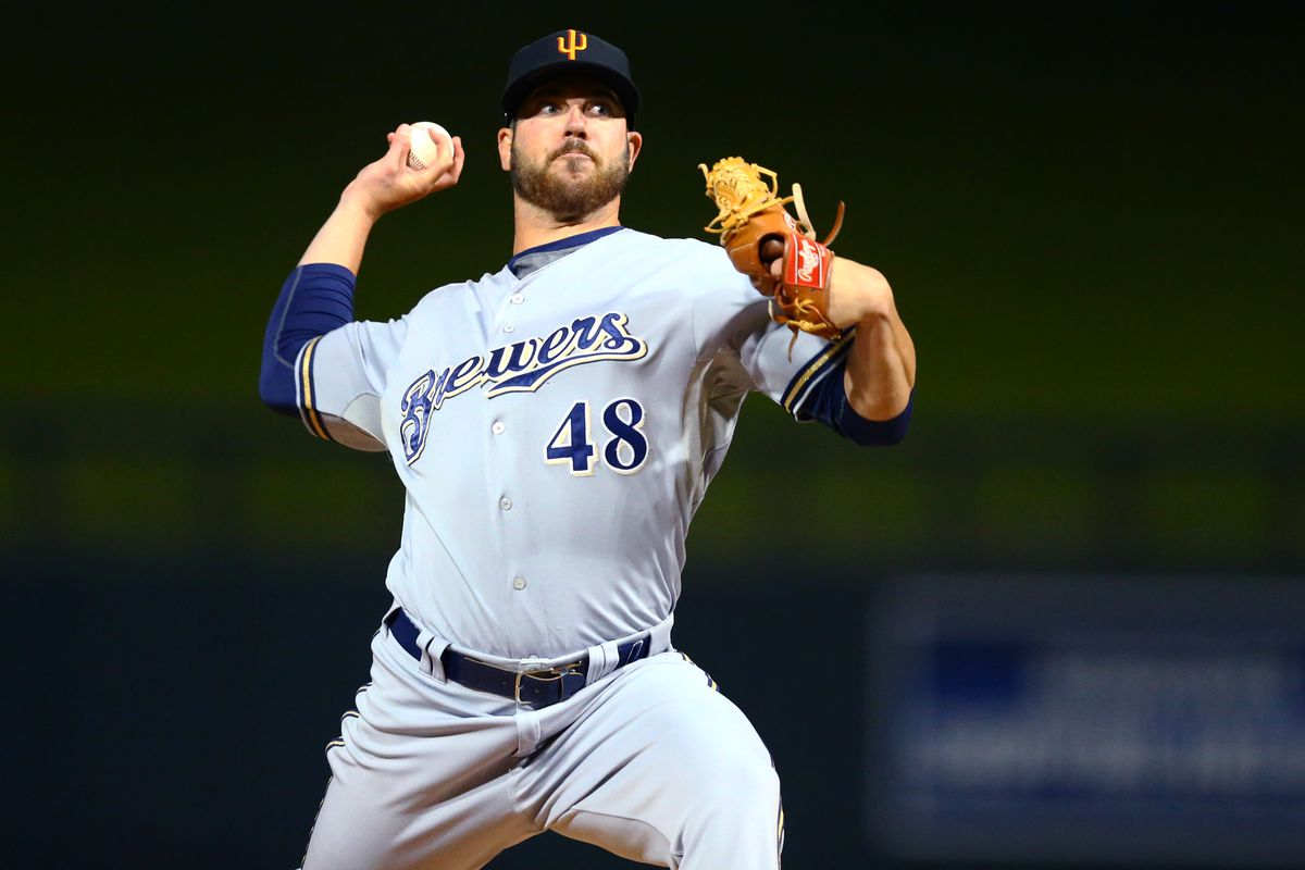 Pitcher Damien Magnifico will be the Brewers closer in 2017.