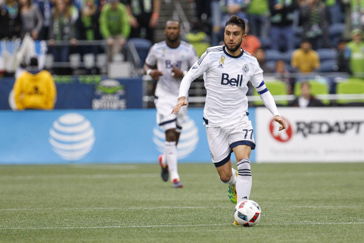 Vancouver Whitecaps player Pedro Morales