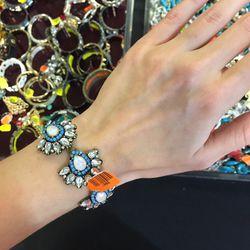Clasp bracelet, $10