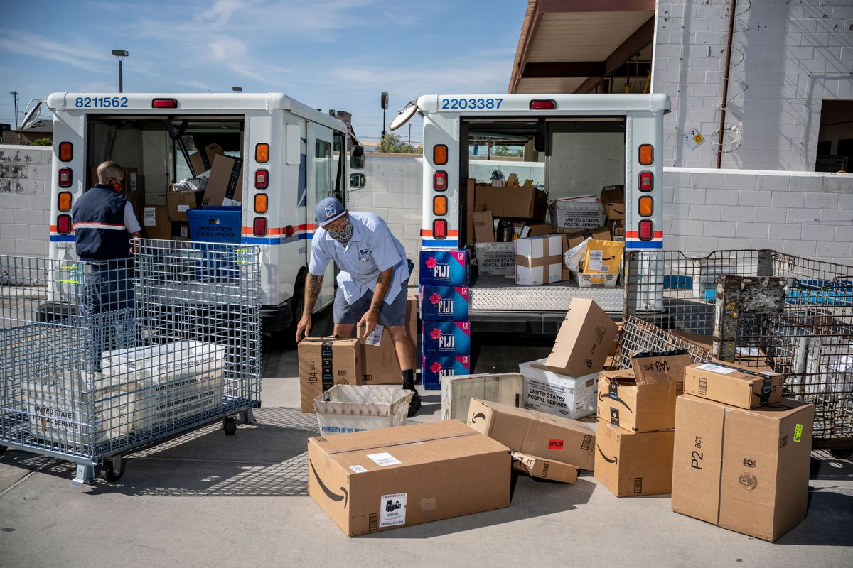 Postal workers and unions say new policies from the postmaster general restrict overtime and lead to mail being left behind.