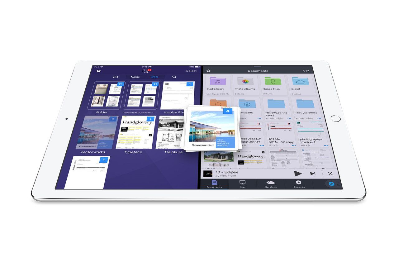 readdle s new drag and drop feature shows how apple could improve multitasking on the ipad