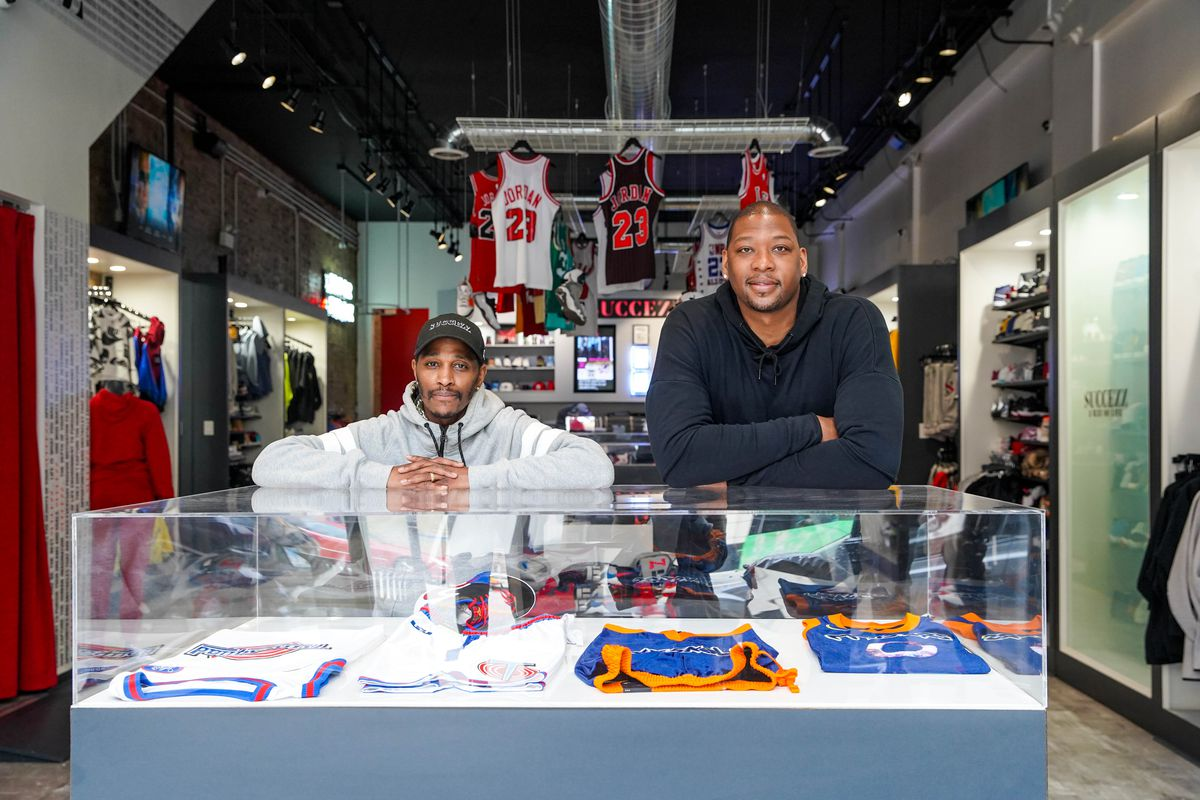 Bobby Simmons and Lavelle Sykes opened Succezz in 2008 and in 2018 moved their storefront location to2214 South Michigan Avenue.