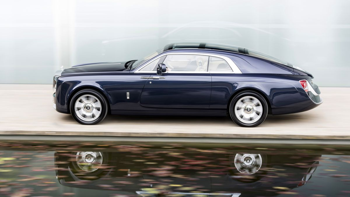 Rolls Royce Custom Built This Gorgeous Coupe For A Mystery Millionaire