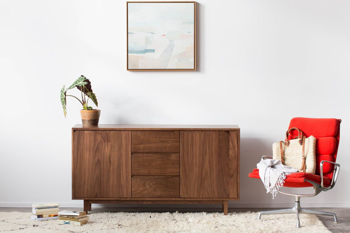 Solid Walnut Credenza   2 379 Hedge House Furniture Week. Etsy furniture shops  7 best stores to check out now   Curbed
