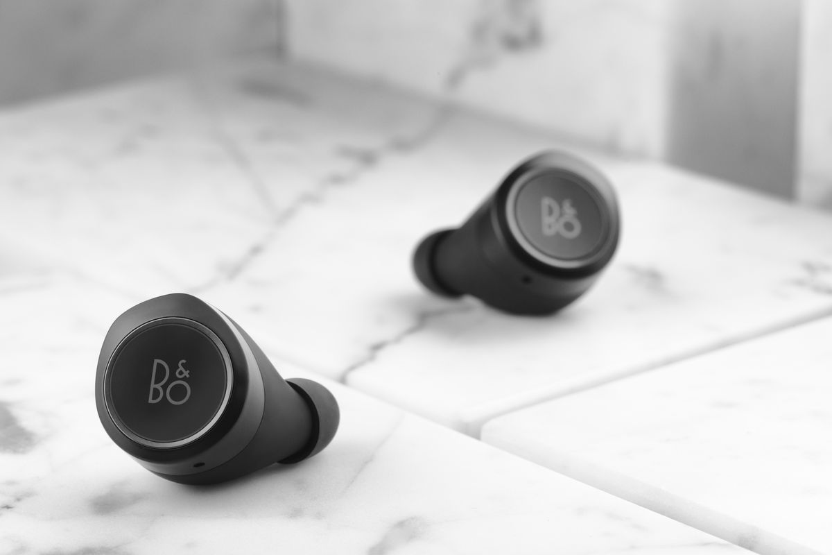 b o play s first truly wireless earbuds look nice but are twice the price of airpods the verge. Black Bedroom Furniture Sets. Home Design Ideas