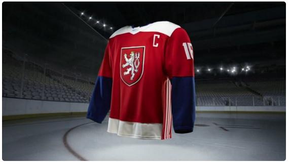 team czech republic world cup of hockey jersey
