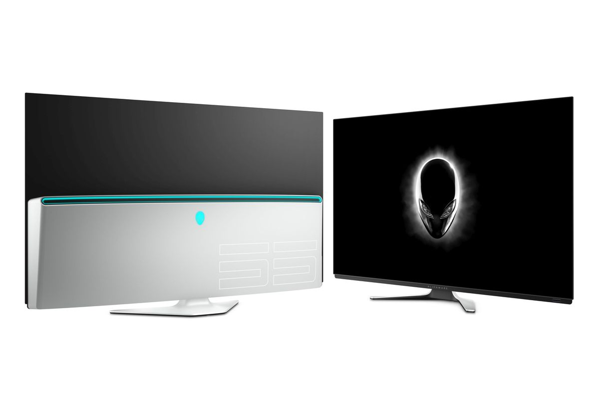 Alienware's new 55-inch OLED monitor is a step closer to the