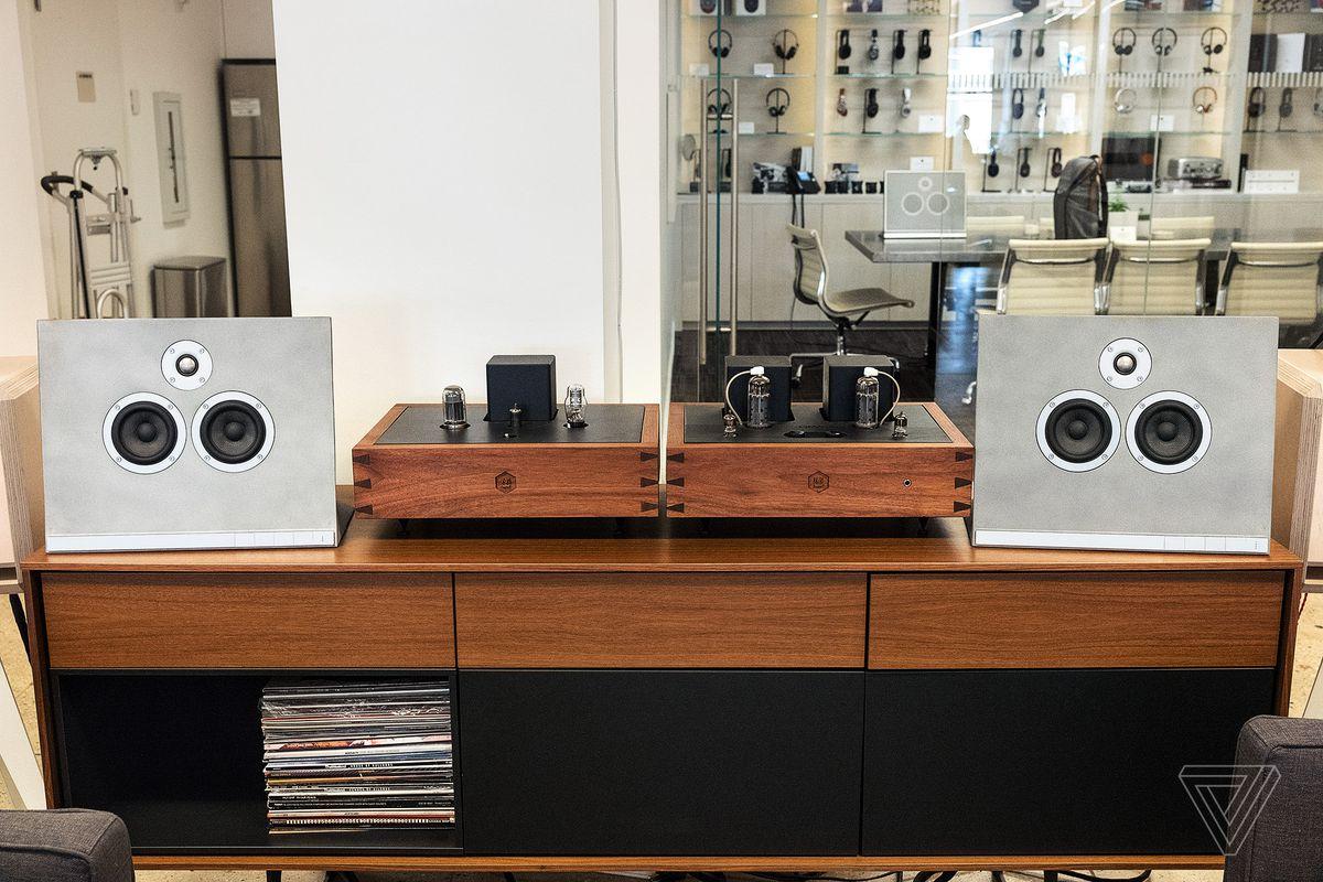Master & Dynamic's concrete speaker is part art piece, part
