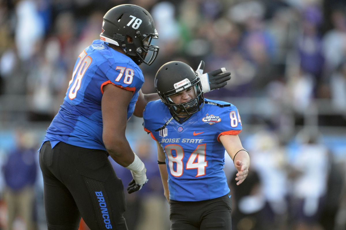 reputable site 9c036 f6ed9 2013 Mountain West player rankings, No. 26: Boise State LT ...