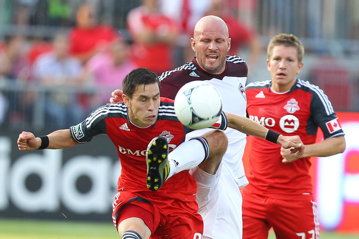 Not Avila's best look.  And hey, it's Conor Casey, he's available as well. Not Terry, he's safe.
