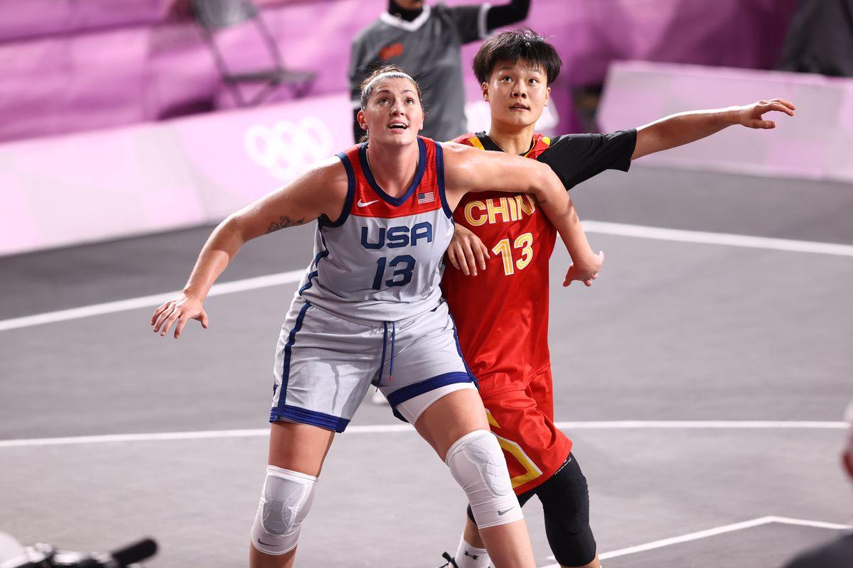 2020 Tokyo Olympics: 3x3 USA v China