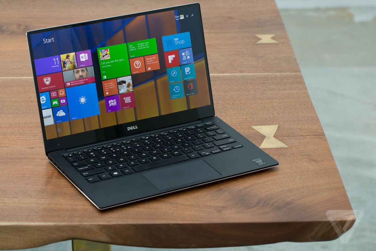 Dell's XPS 13 is a look at the future of laptops   The Verge