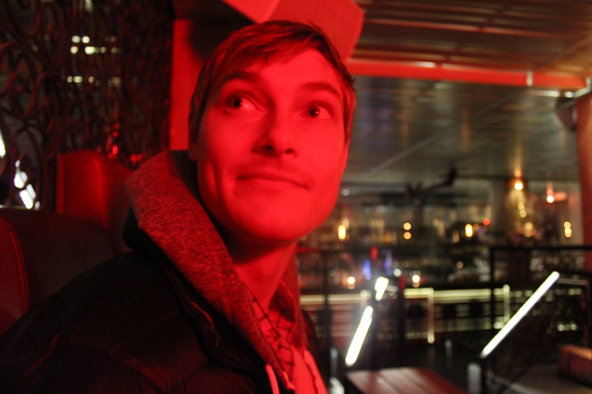 Product Hunt founder Ryan Hoover at the company's Happy Hour