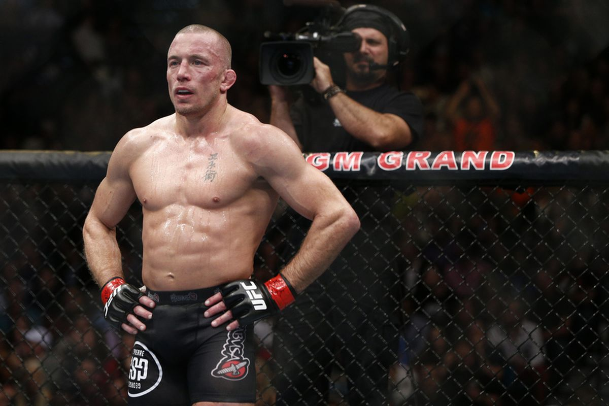 Oddsmakers open Michael Bisping as betting favorite to be Georges St-Pierre's next UFC opponent