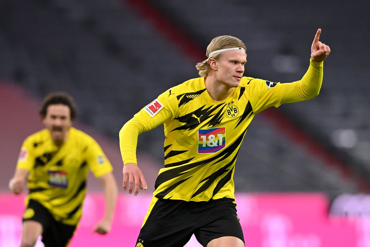 Hansi Flick doesn't entirely rule out Erling Haaland coming to Bayern  Munich at some point - Bavarian Football Works