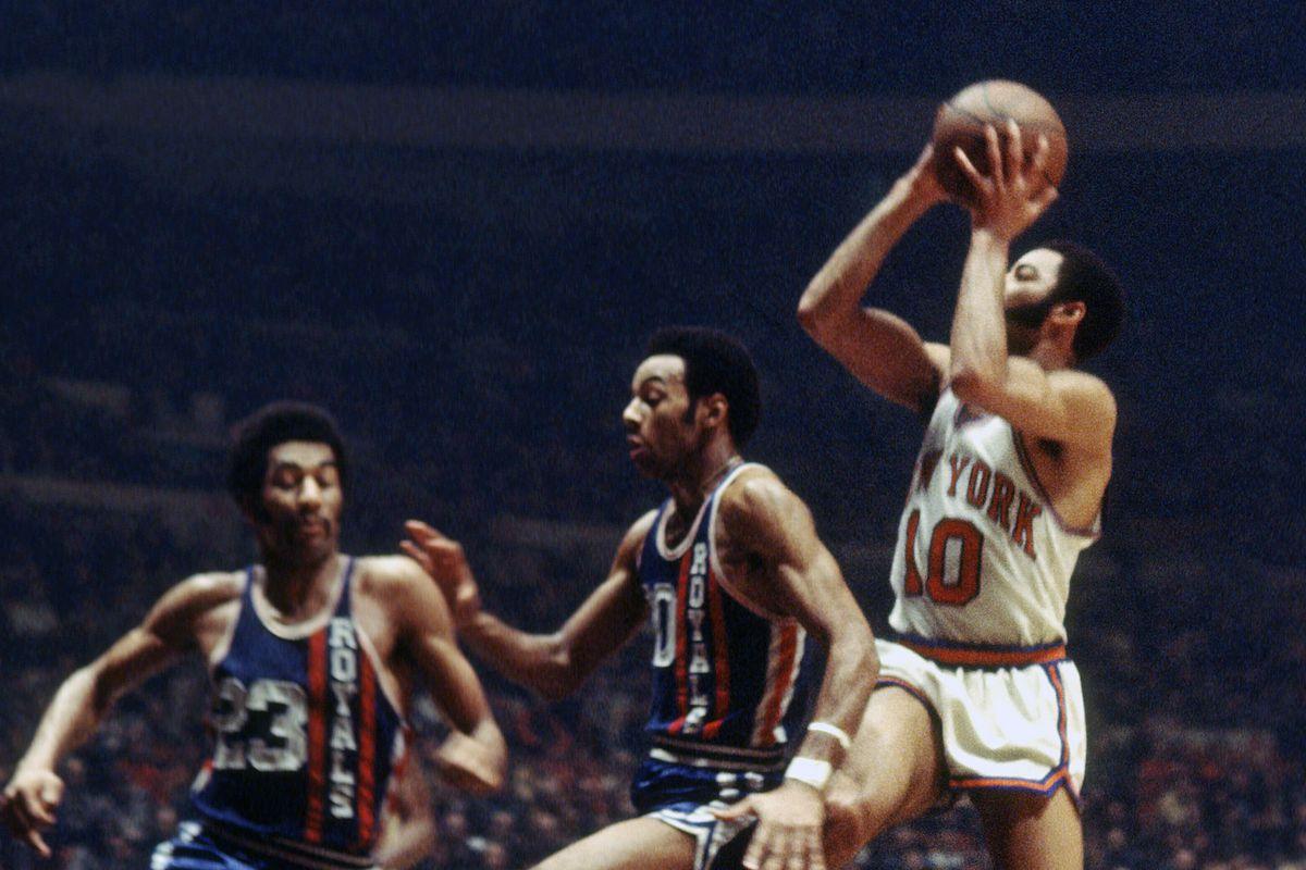 Cincinnati Royals v New York Knicks