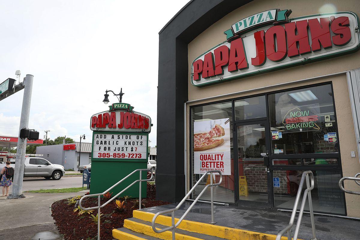 A Papa John's in Miami