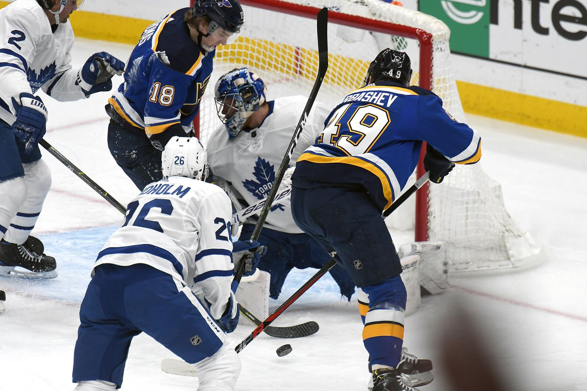 Toronto Maple Leafs game preview: Leafs take on the Blues on the road.