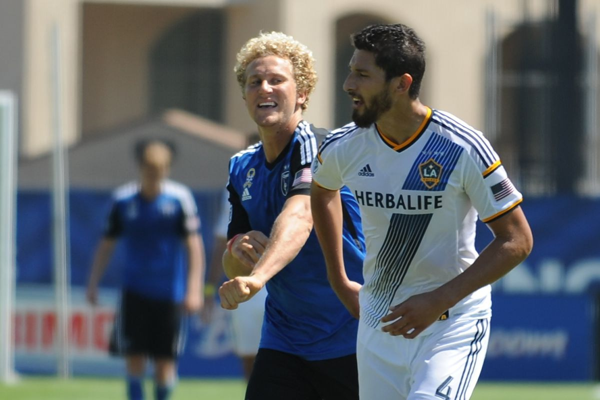 What exactly are Steven Lenhart and Omar Gonzalez talking about?