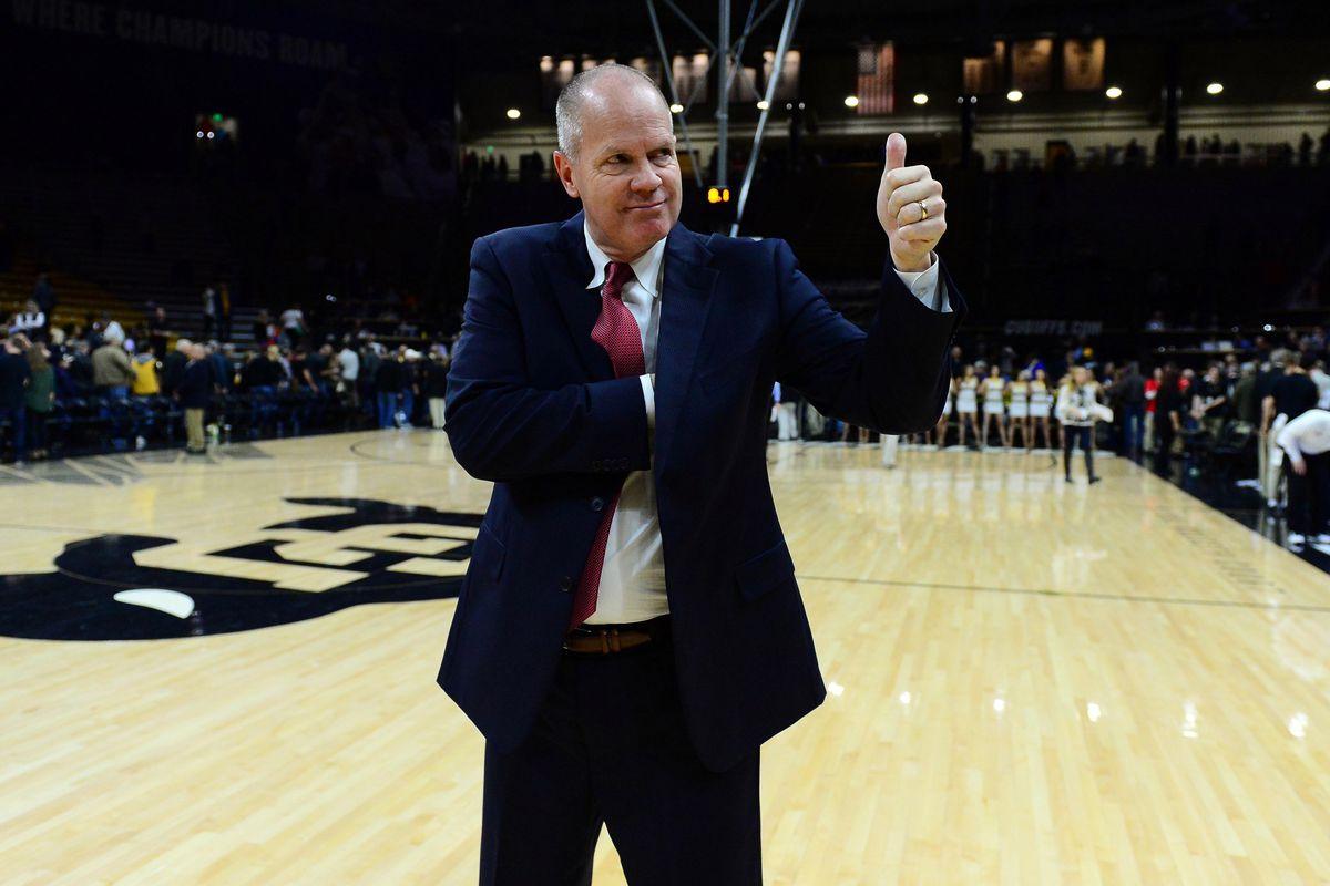 NCAA Basketball: Washington at Colorado