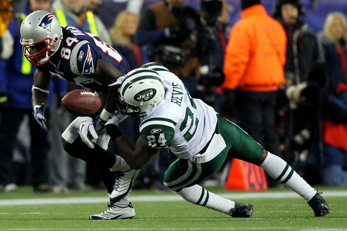 Revis playing for New England is better than Revis against New England