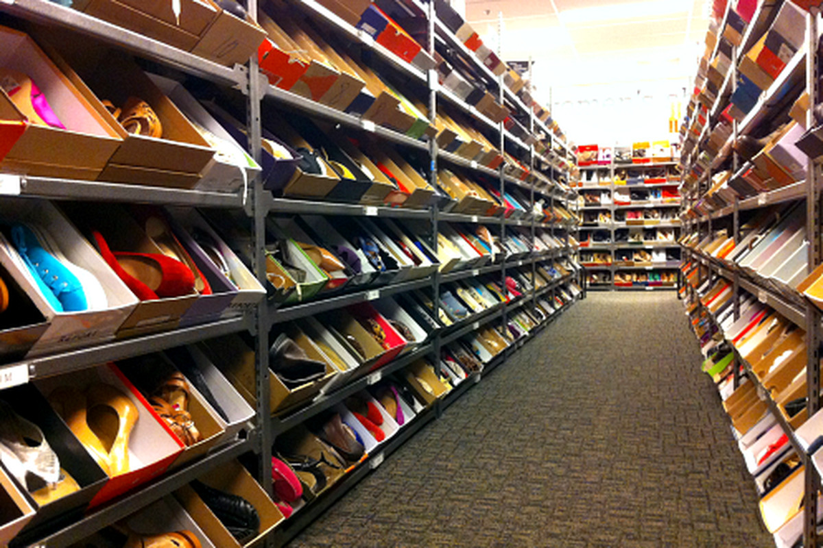 """The awesome shoe selection at Nordstrom Rack. Image credit: <a href=""""https://www.facebook.com/NordstromRack"""">Nordstrom Rack/Facebook</a>"""