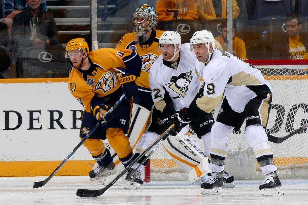 Pittsburgh Penguins v Nashville Predators