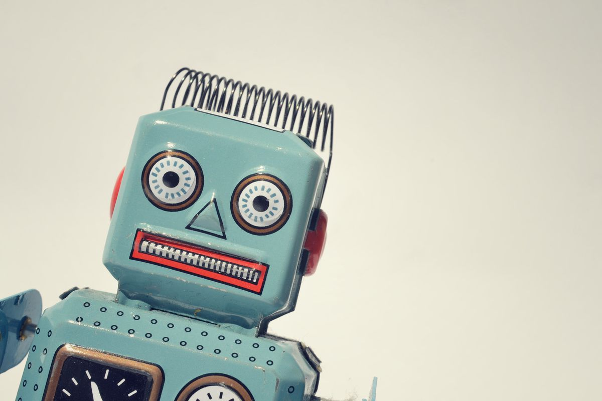 Superintelligent robots like this guy could doom us all.
