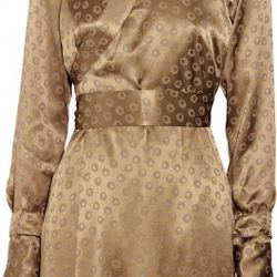 Printed silk kimono dress$350.0065% OFF$122.50