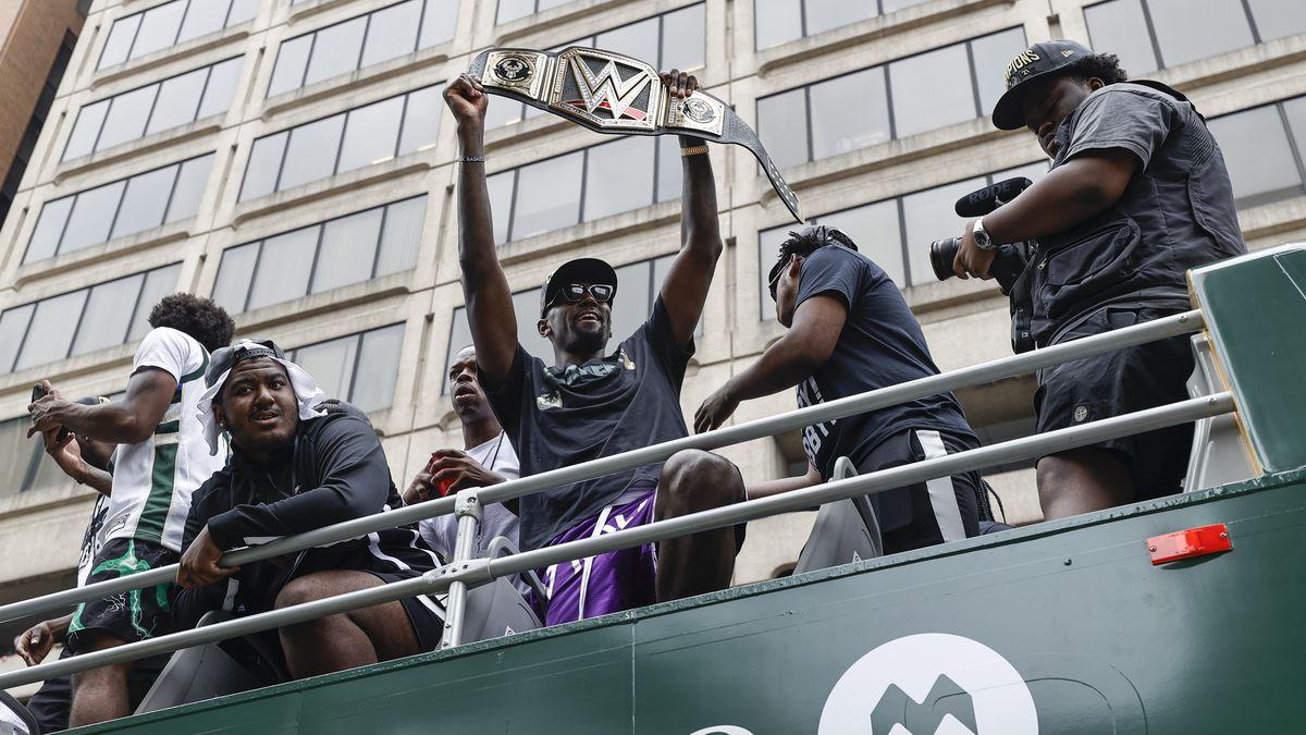 NBA: NBA Champions-Milwaukee Bucks Victory Parade