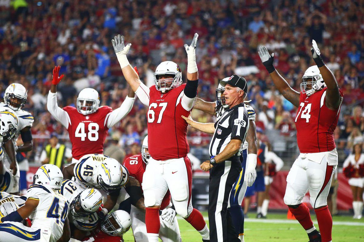 NFL: Los Angeles Chargers at Arizona Cardinals