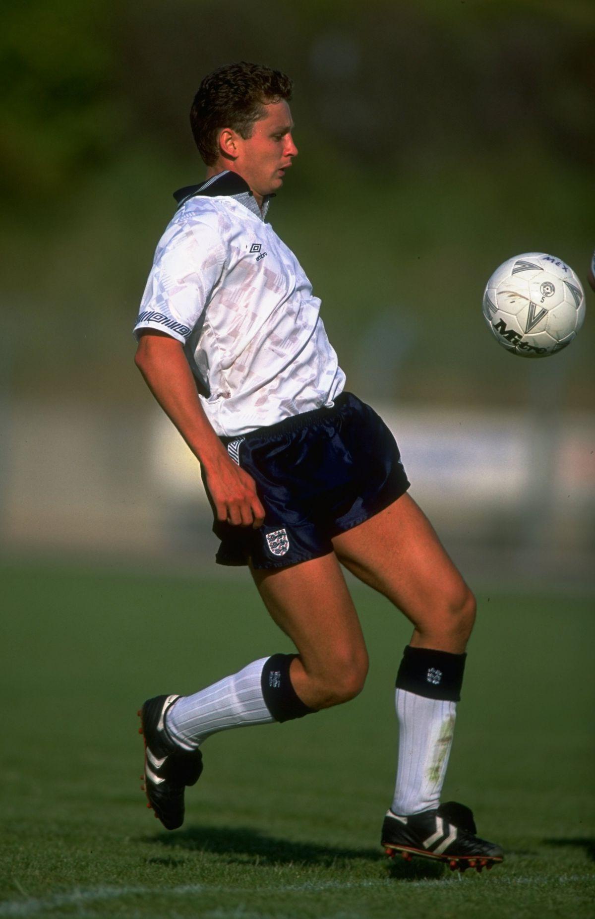 Brian Atkinson of England