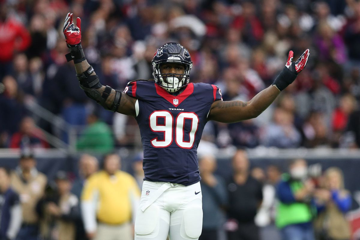 reputable site 119dc 466c3 Jadeveon Clowney became a monster when the Texans made him ...