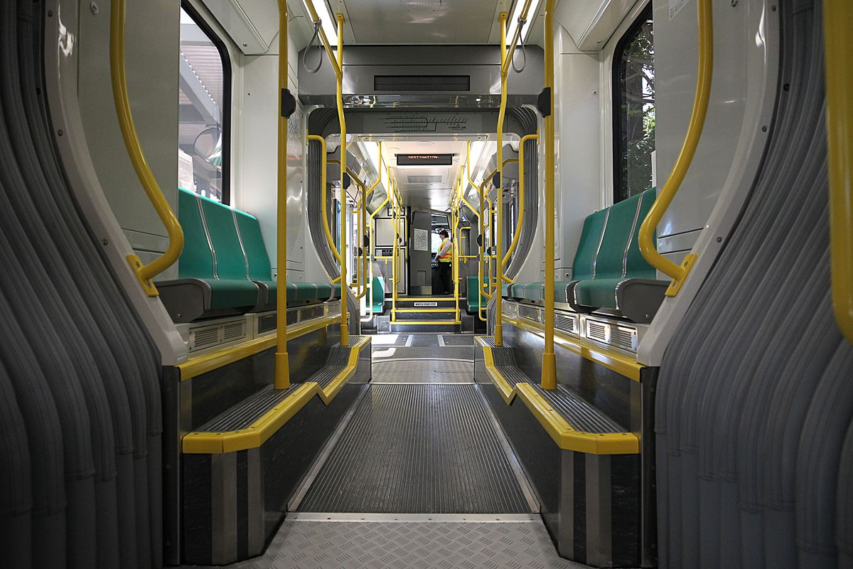 New Green Line Cars Start Rolling Out Slowly