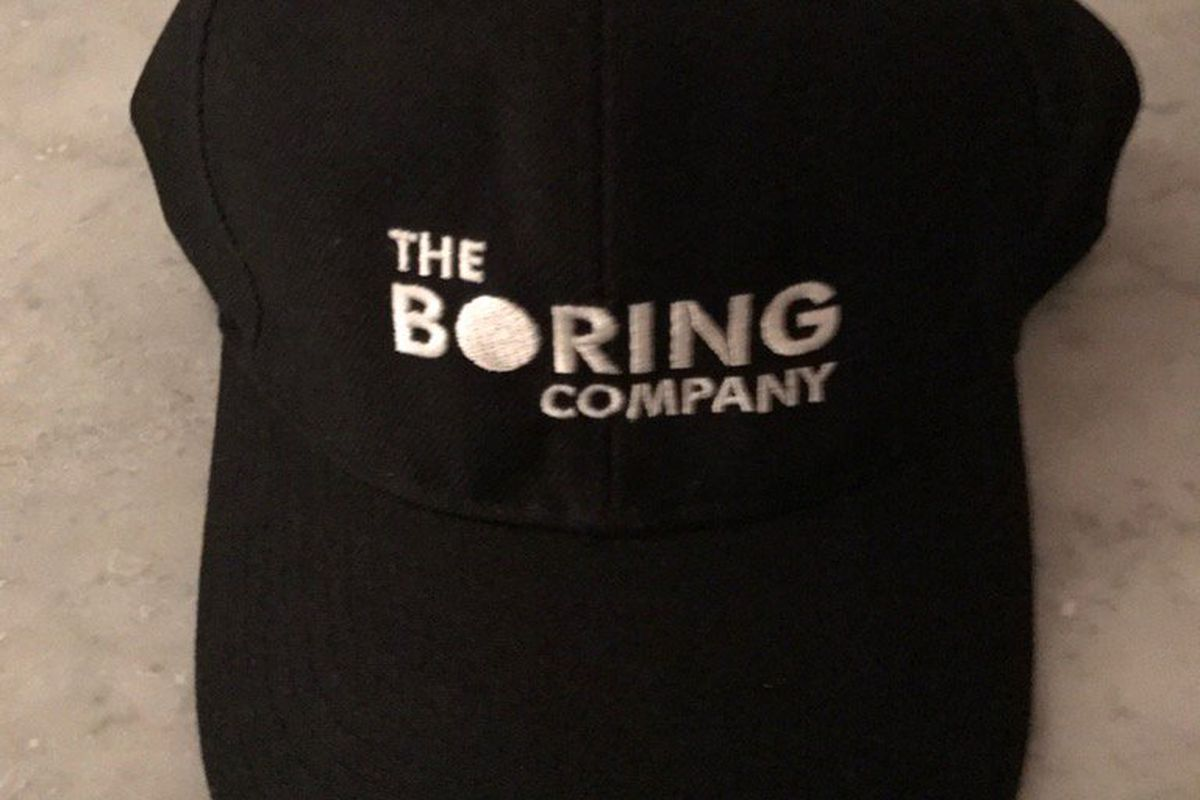 Elon Musk made hats for his boring tunnel company - The Verge 74546f2d7d3
