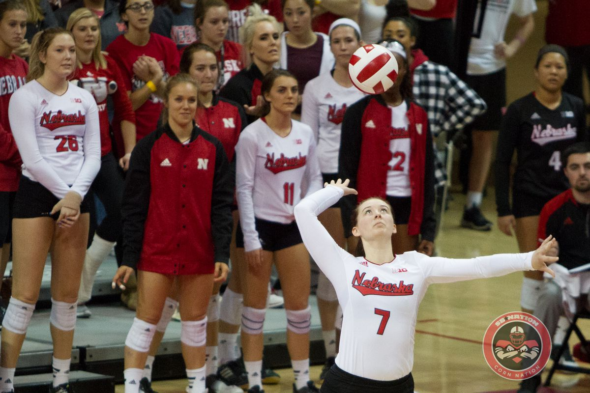 Nebraska announces TV schedule for volleyball | Volleyball ...