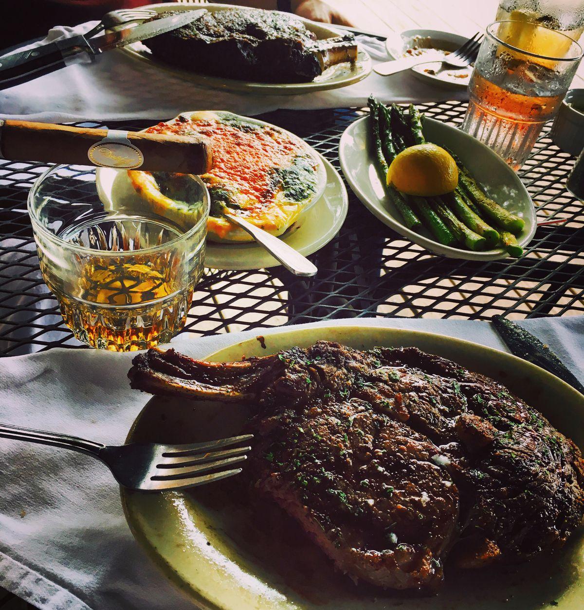 Steak and scotch