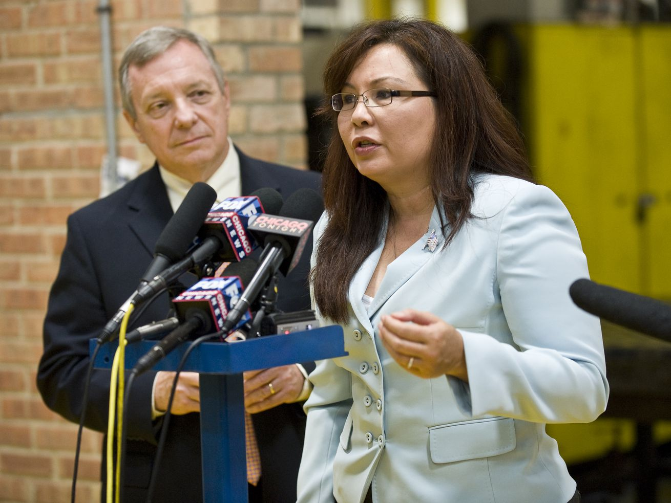 U.S. Senators Dick Durbin and Tammy Duckworth