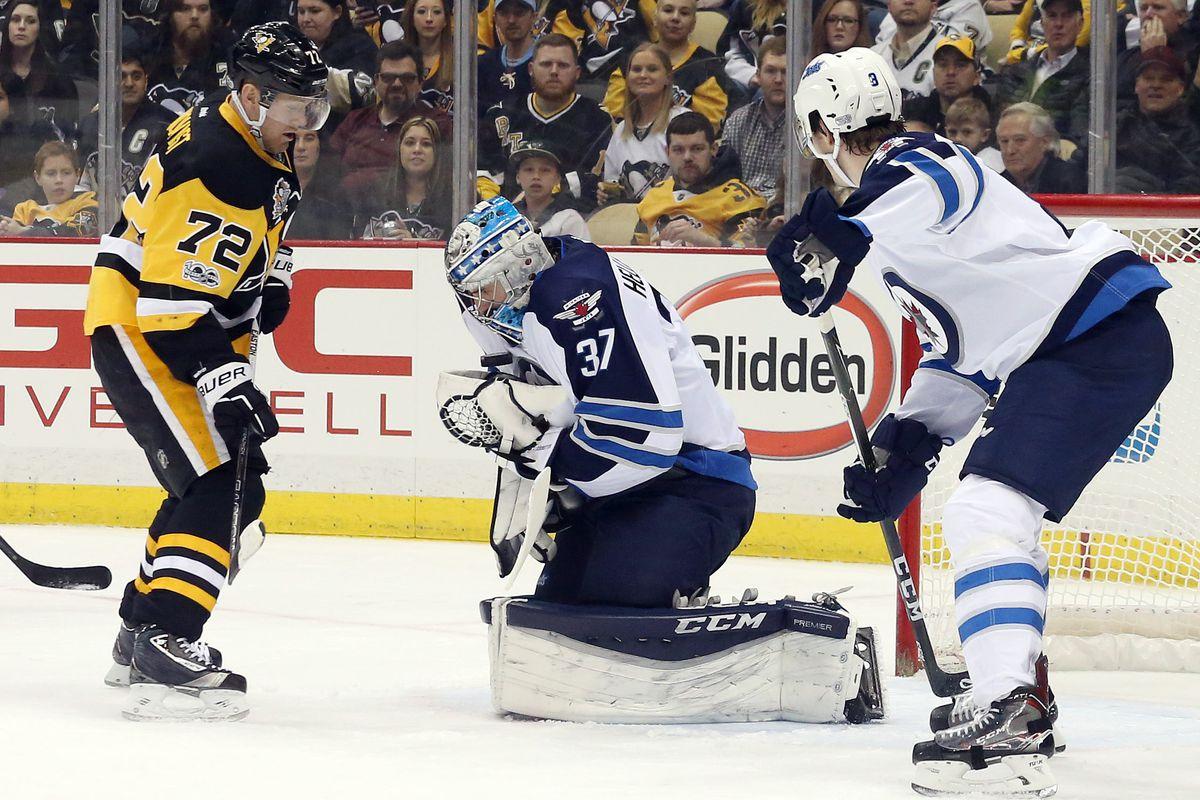 NHL: Winnipeg Jets at Pittsburgh Penguins