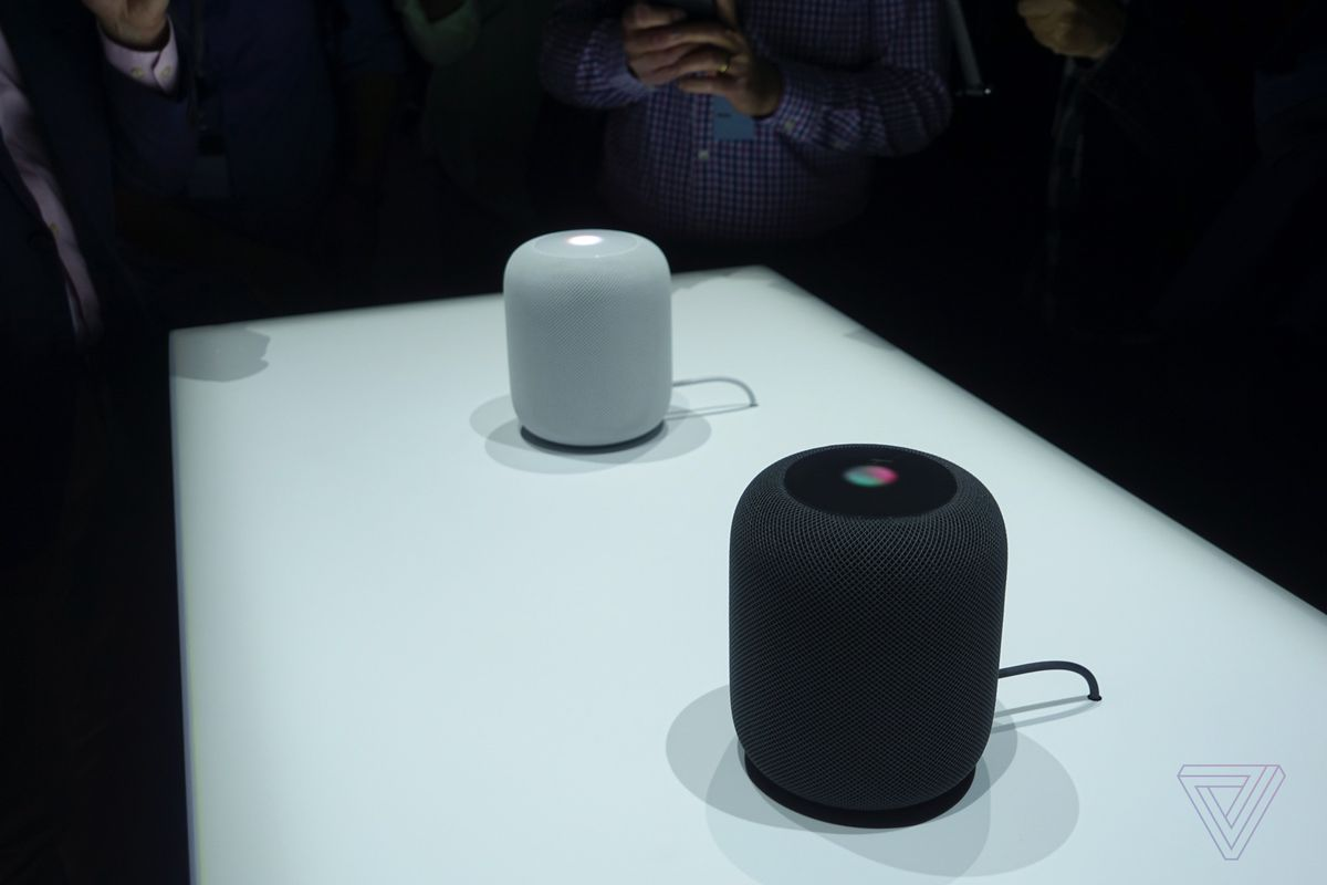 Apple takes on Amazon with voice-activated speaker