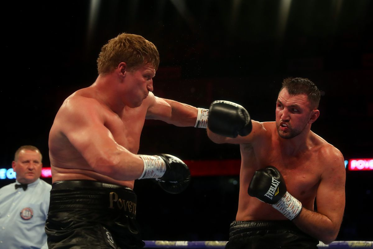 Alexander Povetkin wins clear decision over Hughie Fury